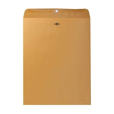Sparco Products Sparco Heavy-Duty Clasp Envelopes, Brown kraft