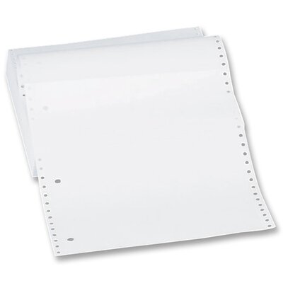 "Sparco Products Computer Paper, Plain, 18 lb., 9-1/2""x11"", 2600 SH, White"