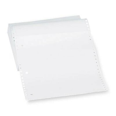 "Sparco Products Computer Paper, Plain, 20 lb., 9-1/2""x5-1/2"", 2400 Sheets/Carton, White"