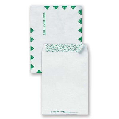 Sparco Products Sparco Tyvek Open-End First Class Envelopes, White