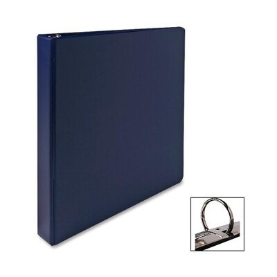 "Sparco Products Vinyl Ring Binders, Letter, 1"" Capacity, Various Colors"