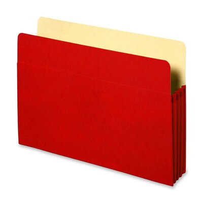 "Sparco Products Accordion File Pockets, 9.5"" x 11.75"", 3.5"" Expansion, Various Colors"