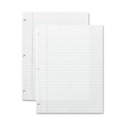 Sparco Products Standard Filler Paper (150 Per Pack)