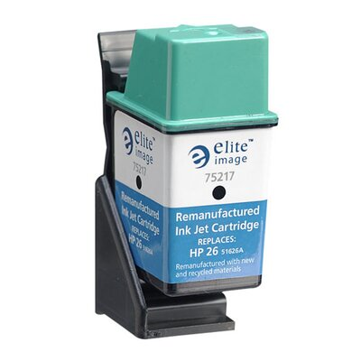 Elite Image Inkjet Cartridge, 790 Page Yield, Black