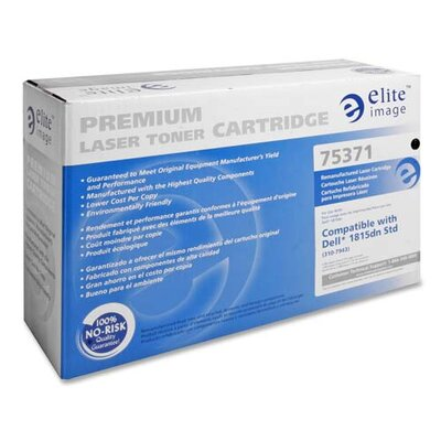 Elite Image Toner Cartridge, Dell Repl Part 310-7943, PG Yield 3, 000, BK