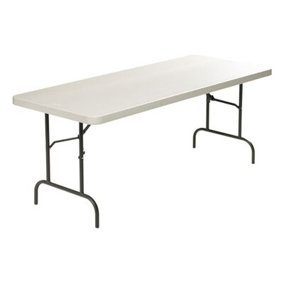 "Lorell Ultra Light Banquet Table, Rectangle, 30"" x 60"" x 29"" , Steel"