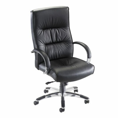 Lorell Bridgemill High-Back Executive Chair with Arms