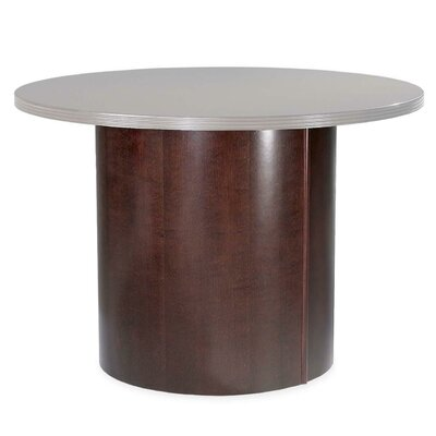 Lorell 88000 Series Table Base, Mahogany