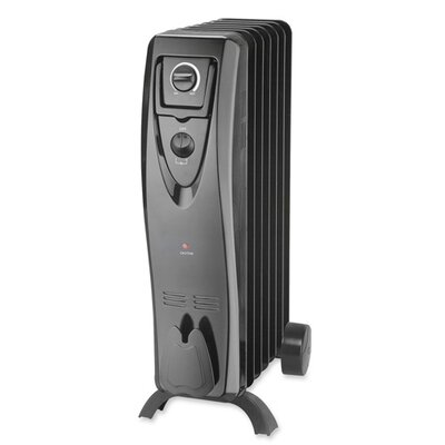 Lorell 1,500 Watt Oil-Filled Radiator Space Heater
