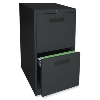 Lorell 2-Drawer File/File Mobile Pedestal Files