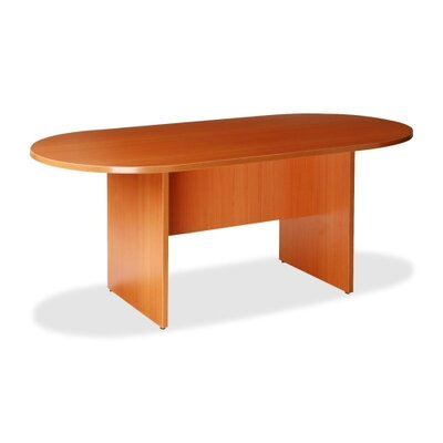 Lorell Oval Conference Table, Cherry