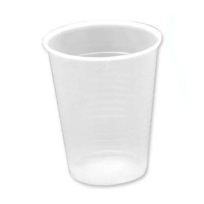 Genuine Joe Translucent Plastic Beverage Cups, Clear