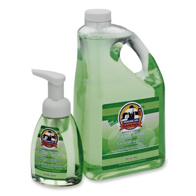 Genuine Joe Antibacterial Foaming Hand Soap, Green