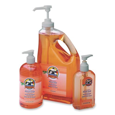 Genuine Joe Antibacterial Moisturizing Liquid Soap, Orange
