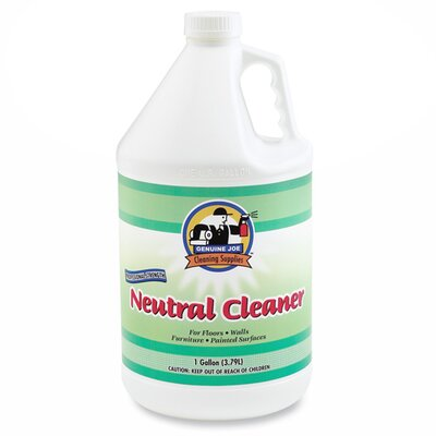 Genuine Joe Concentrated Citrus Neutral Cleaner, White