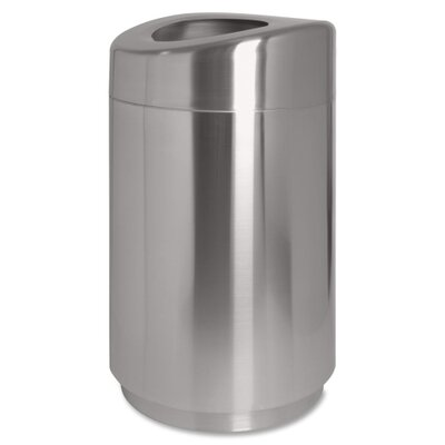 Genuine Joe Curved Top Waste Receptacle