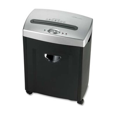 Compucessory Compucessory 6-Sheet Micro-Cut Shredder, Charcoal gray