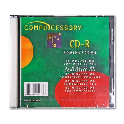 Compucessory Compucessory Branded CD-R w/Writing Area