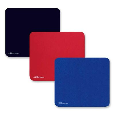 Compucessory Smooth Cloth Nonskid Mouse Pad
