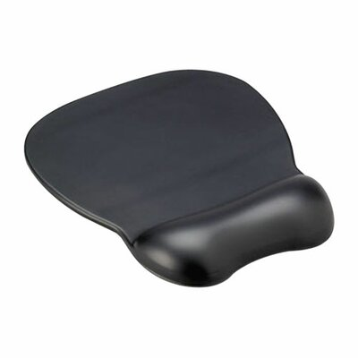 Compucessory Compucessory Soft Skin Gel Wrist Rest & Mouse Pad, Black