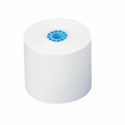 "Nature Saver Recycled Add Rolls, White, 2-1/4""x150', 1-Ply"