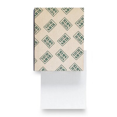 "Nature Saver Recycled 92 Bright Paper, White, 20 lb., 92 Brightness, 8-1/2""x14"""