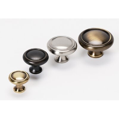 Alno Inc Traditional Small Round Knob