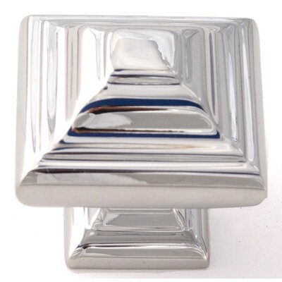 "Alno Inc Geometric 1.25"" Square Knob"