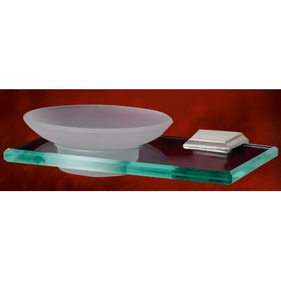 Alno Inc Geometric Soap Holder with Dish