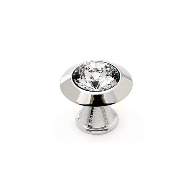 Alno Inc Swarovski Crystal Round Knob
