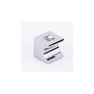 Alno Inc Swarovski Crystal Square Knob