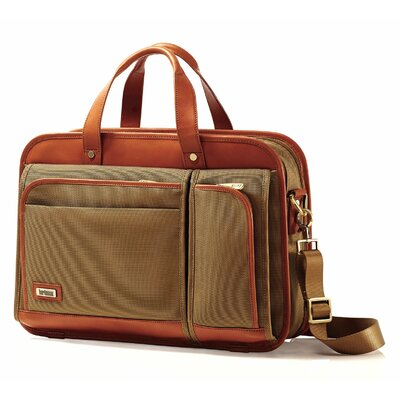 Hartmann Intensity Belting Two Compartment Briefcase