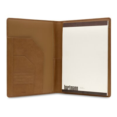Hartmann J Hartmann Reserve Executive Writing Folio in Natural