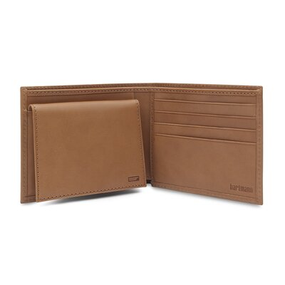J Hartmann Reserve Removable ID Billfold in Natural