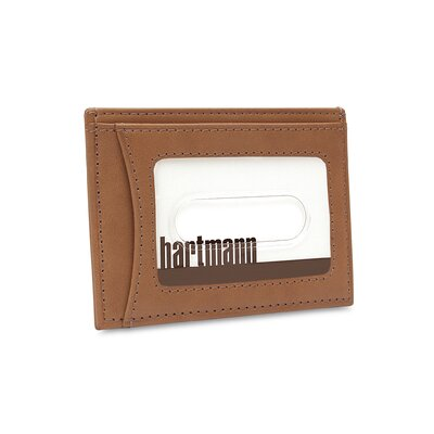 Hartmann J Hartmann Reserve Weekend Wallet in Natural