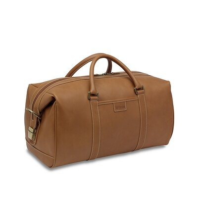 Hartmann J Reserve 18&quot; Leather Travel Duffel 