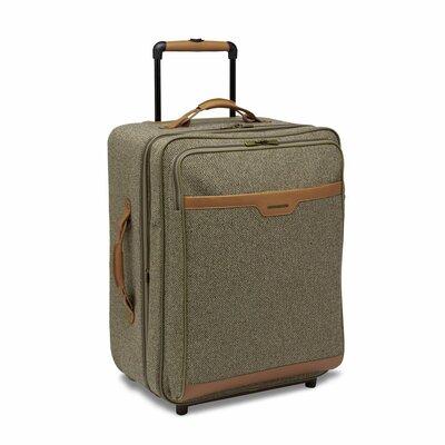 "Hartmann Tweed 27"" Expandable Mobile Traveler in Walnut"