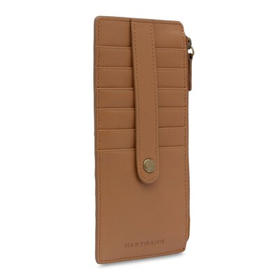 J Hartmann Reserve 12 Pocket Card Case in Natural