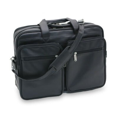 Overland Travelware Durahide Twin Pocket Laptop Briefcase