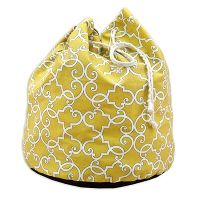 Chooty & Co Woburn Sunflower Round Laundry Bag with 4 Grommets