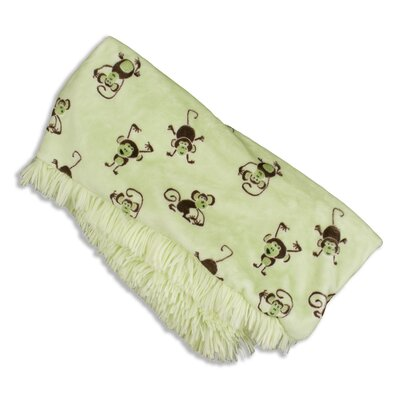 Chooty & Co Shaggy Polyester Reversible Throw