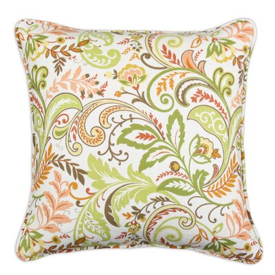 Chooty & Co Findlay Apricot Corded Linen Pillow