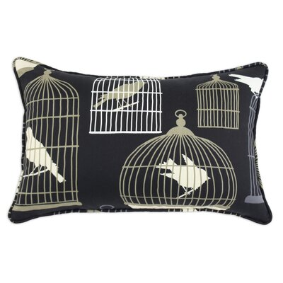 Flight of Fancy Corded Cotton Pillow