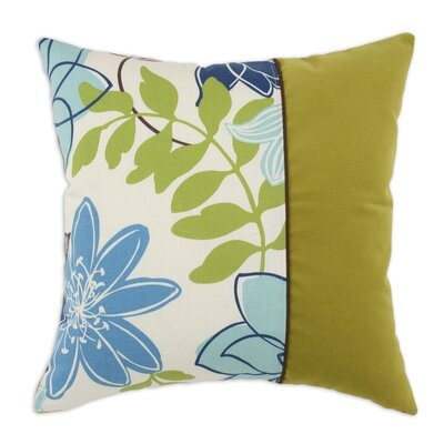 Chooty & Co Monaco Leaf Corded Cotton Pillow