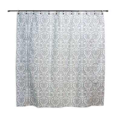 Chooty & Co Abigail Twill Cotton Shower Curtain