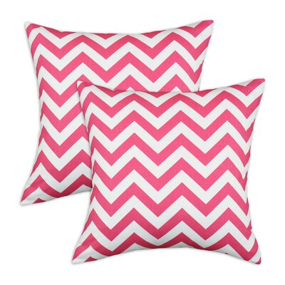 Chooty & Co Zig Zag Cotton Pillow (Set of 2)
