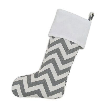 Chooty & Co Zig Zag Lined Trimmed Stocking
