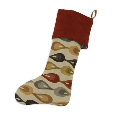 Chooty & Co Lovebirds Lined Trimmed Stocking