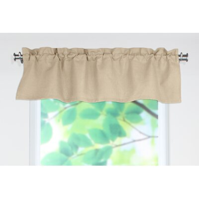 Chooty & Co Circa Solid Rod Pocket Tailored Curtain Valance