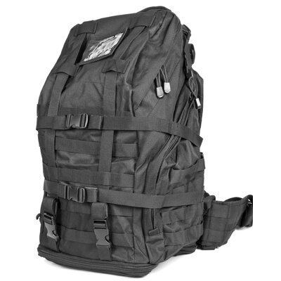 Vism by NcStar Tactical 3 Day Back Pack in Black